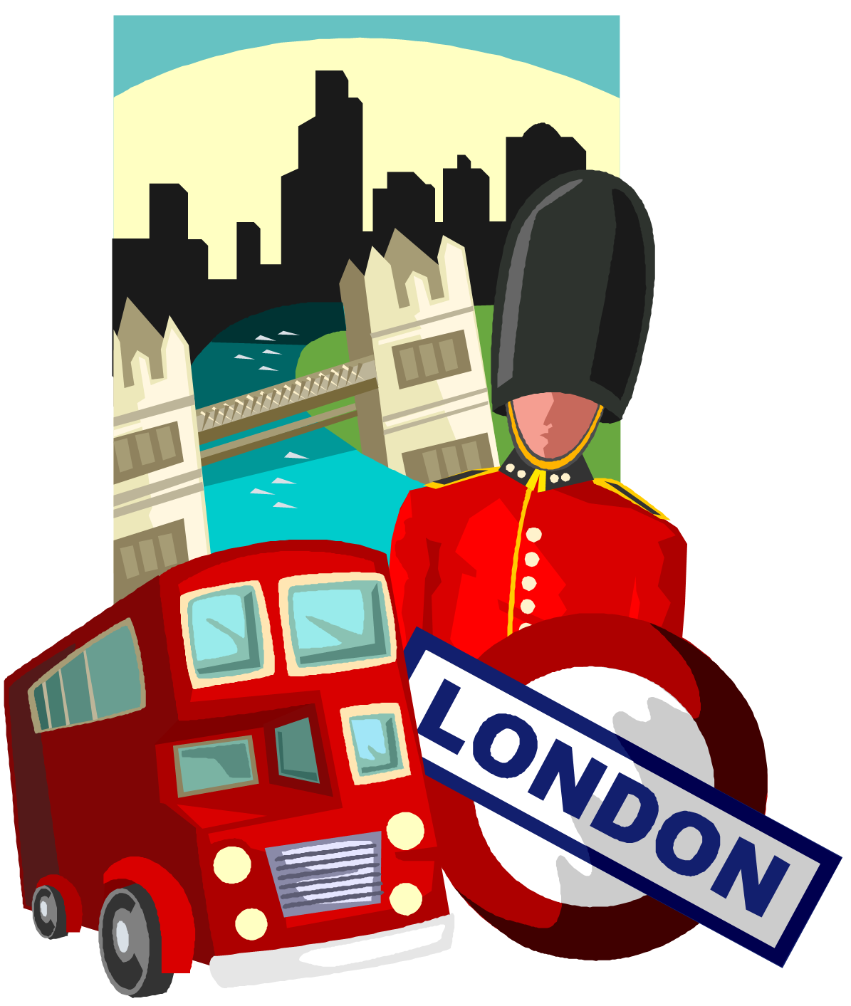 London clipart graphic. Index of site images