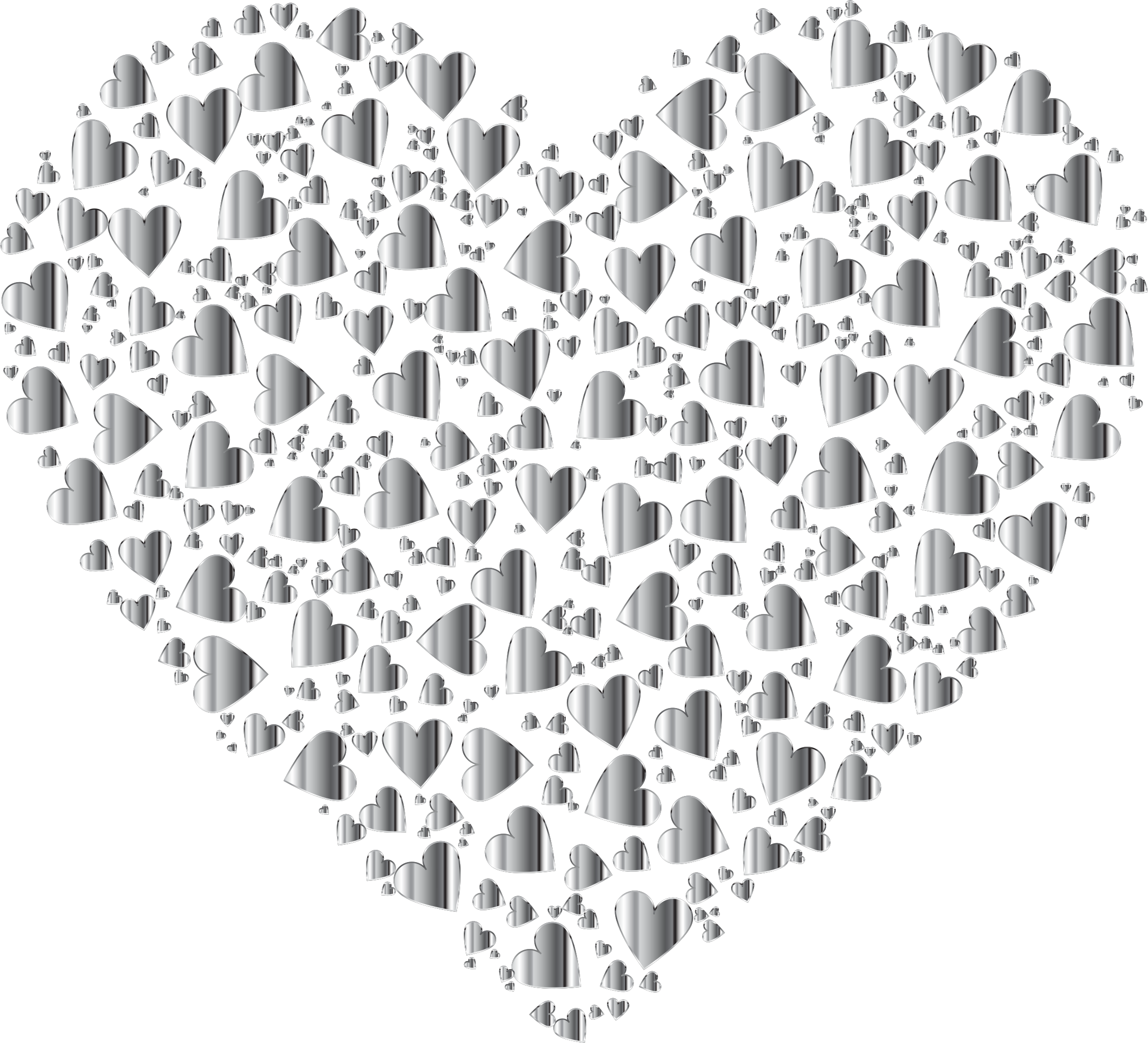 London clipart heart. Chaotic colorful fractal no