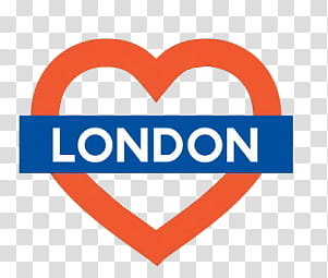 London clipart heart. S red and blue