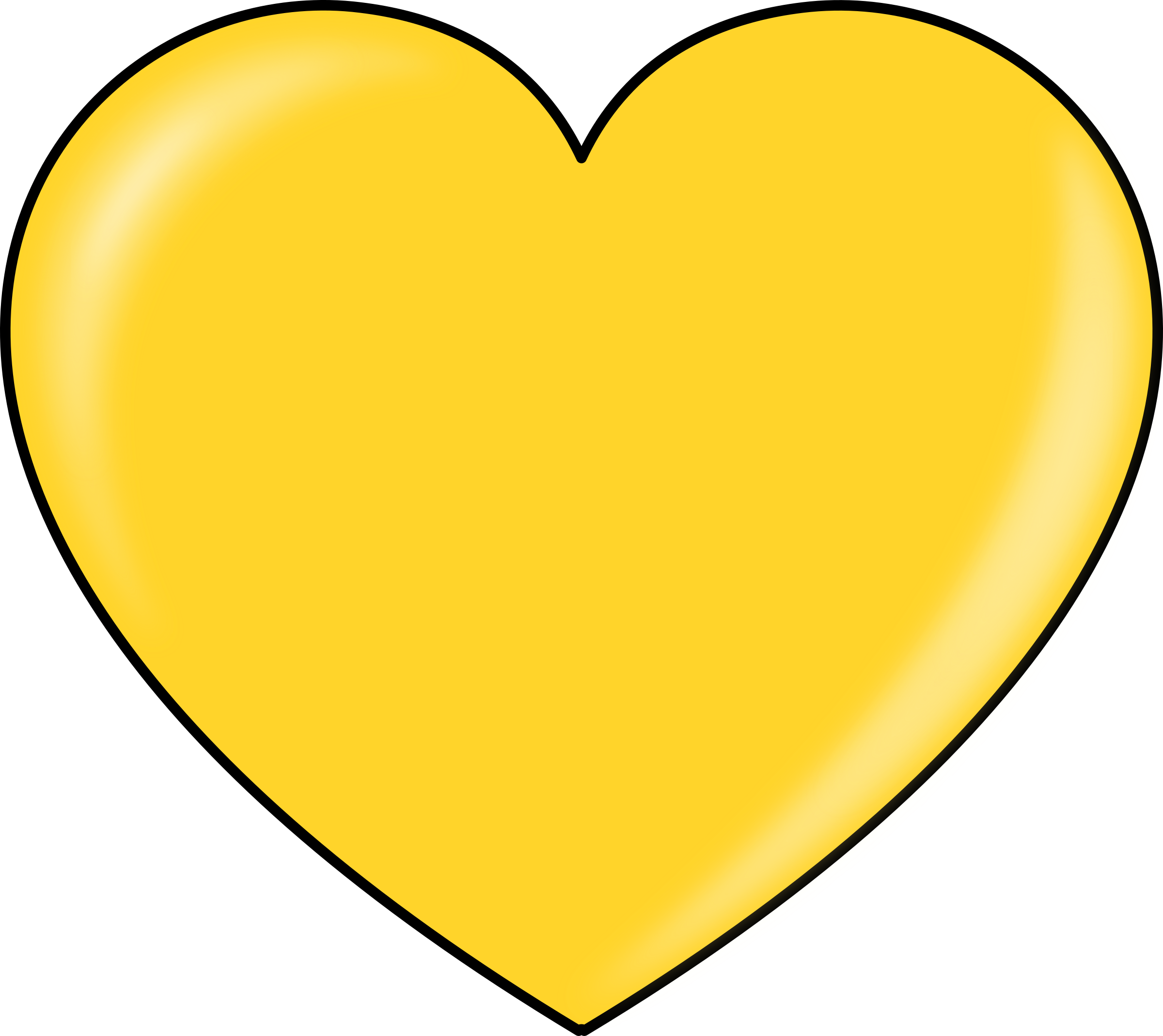 London clipart heart. Gold big image png