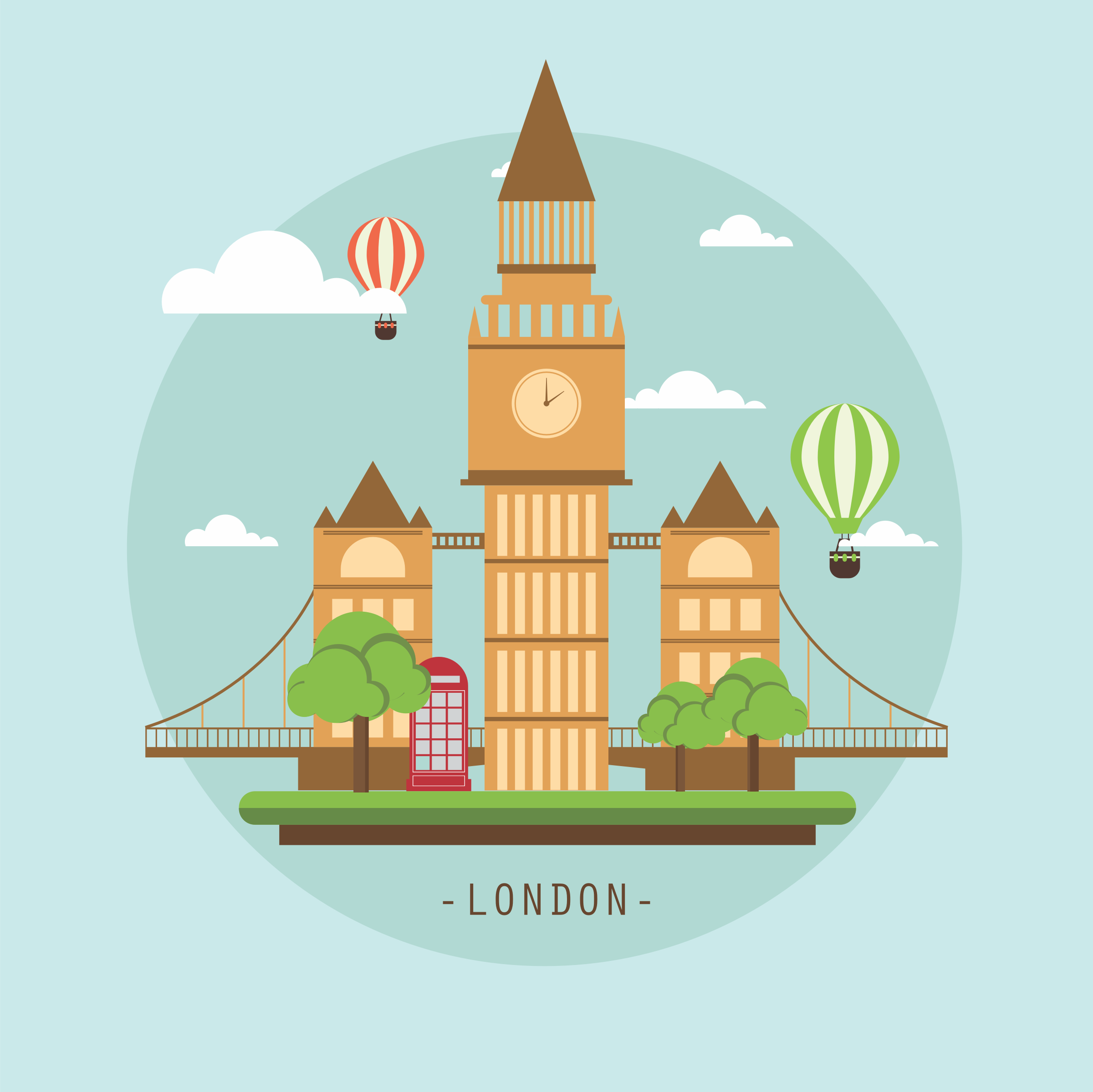 Landmarks big image png. London clipart landmark