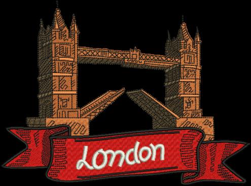 Tower drawing home label. London clipart london bridge