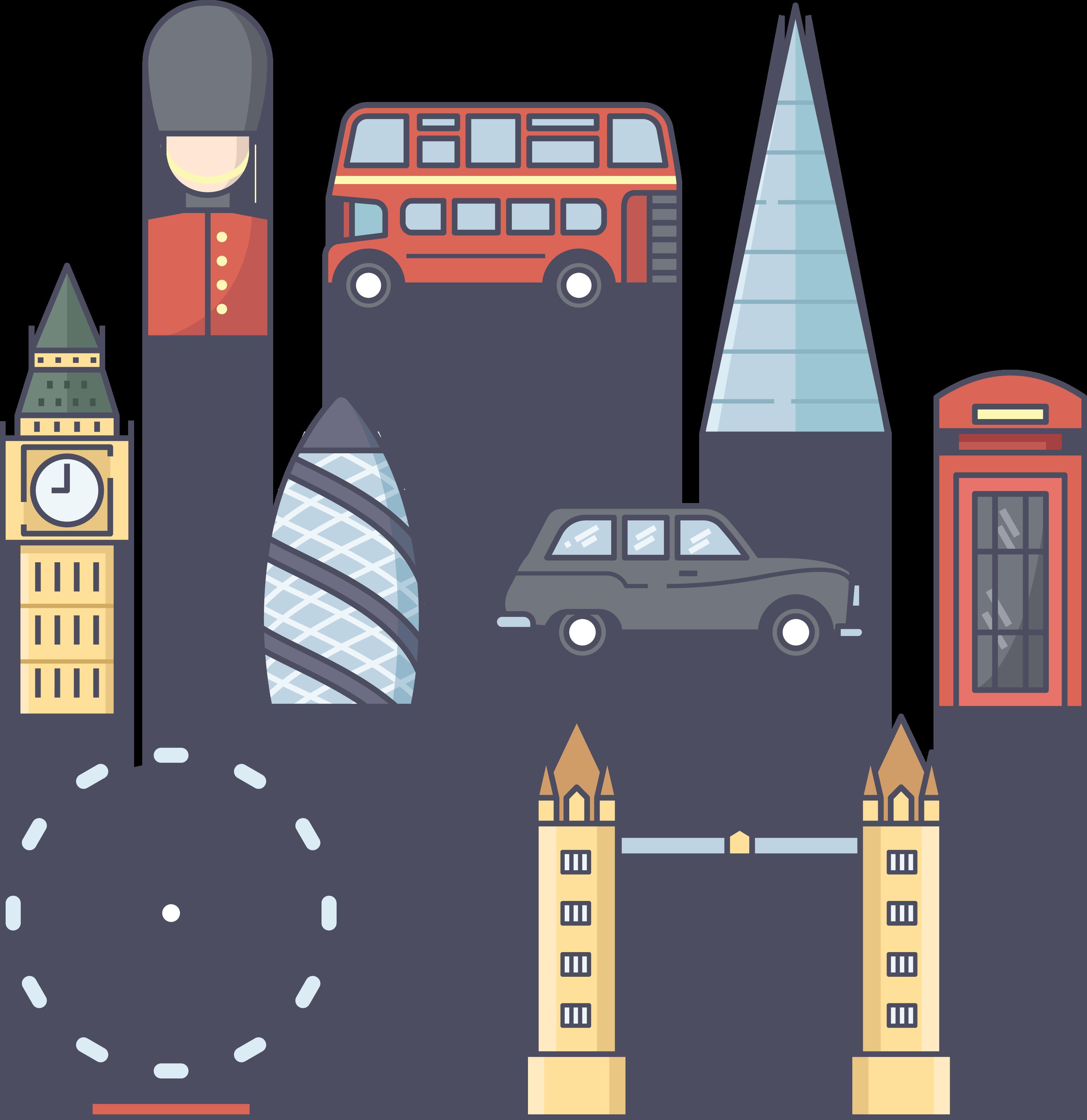 Big ben tower eye. London clipart london bridge