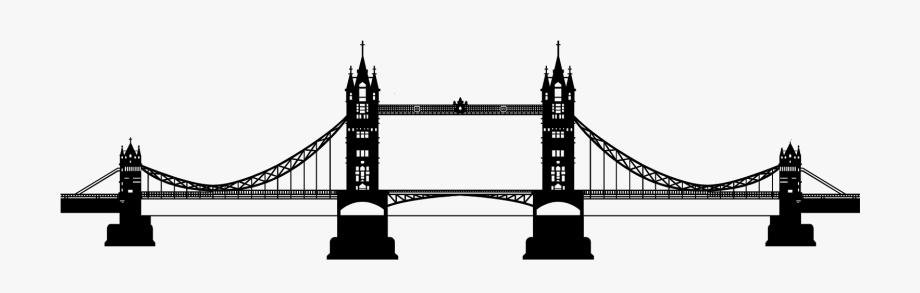 London clipart london bridge. Download tower silhouette free