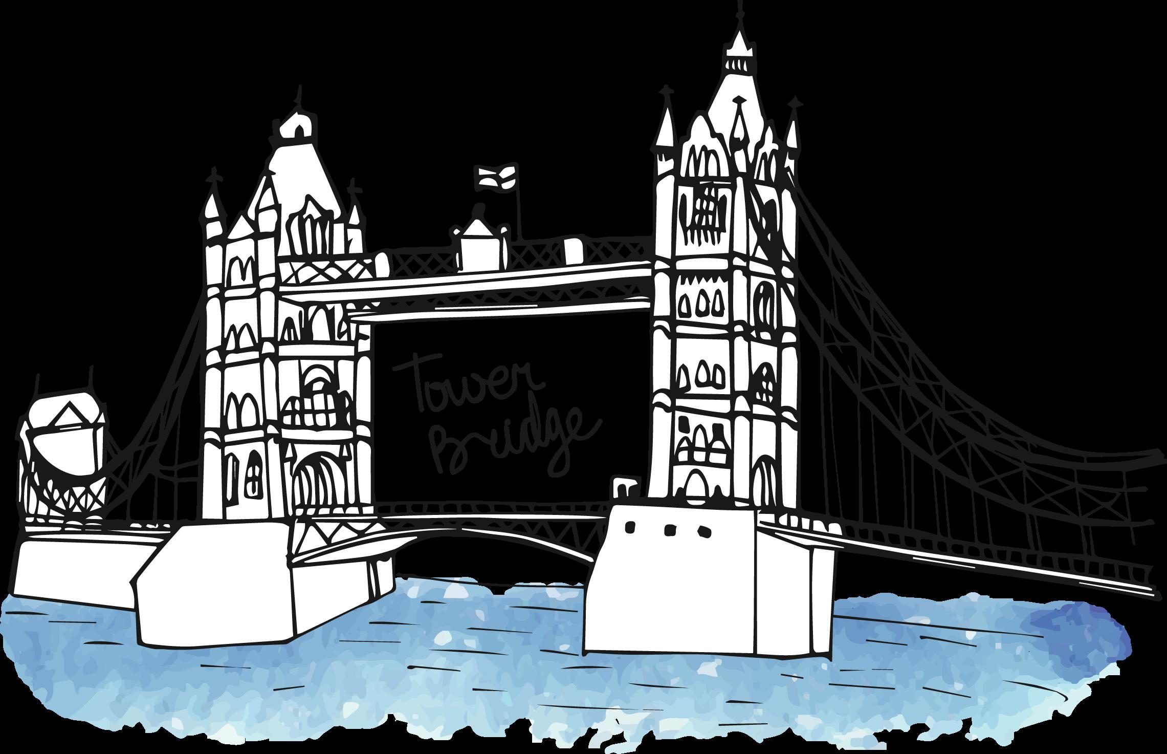 London clipart london bridge. Big ben landmark monument