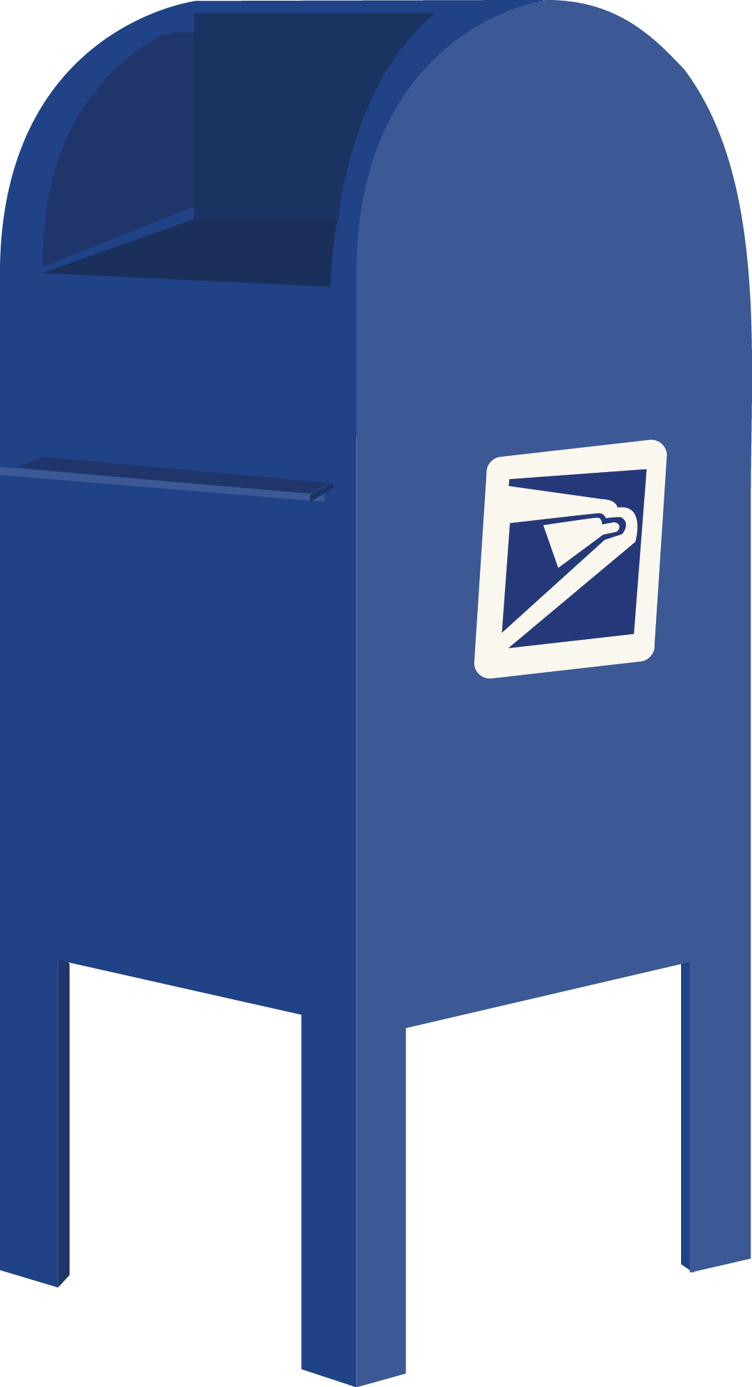 Mailbox clipart blue mailbox. Letters to my year