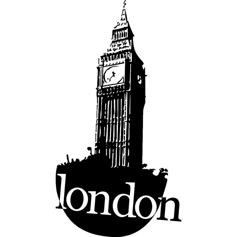 Stickers cheap sticker big. London clipart monument london