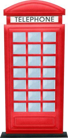 london clipart phone booth british