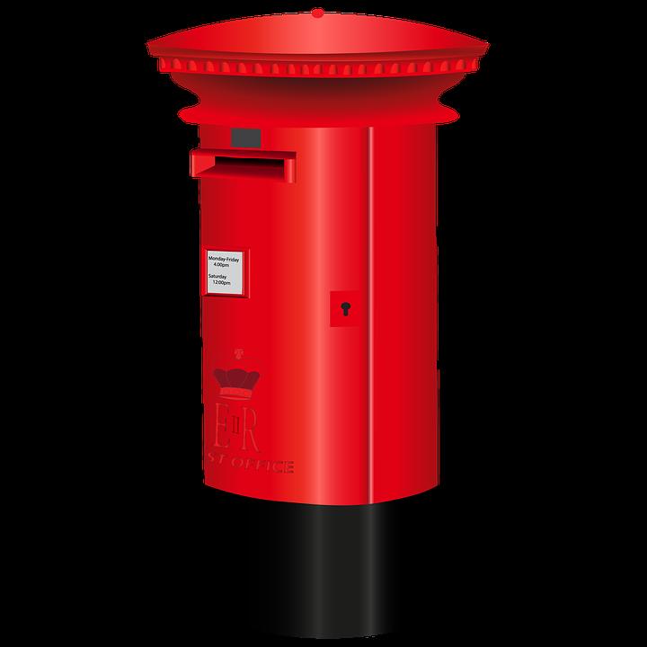 Mailbox red mailbox