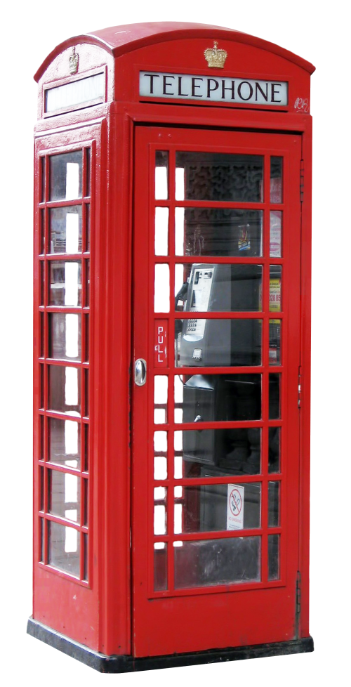 London clipart red telephone box. Booth png transparent image