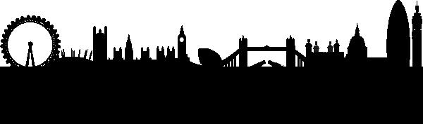 London clipart skyline. Clip art at clker