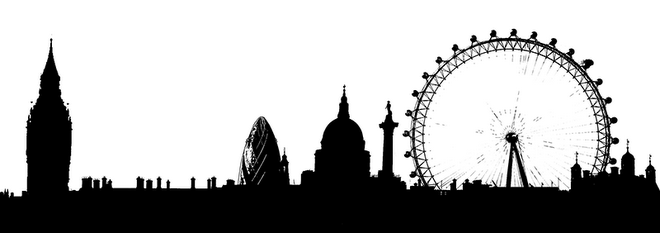 I would love a. London clipart skyline