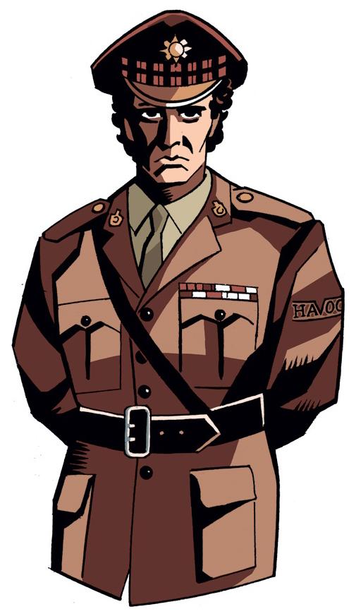 Characters lethbridge stewart lieutenant. Soldiers clipart colonel