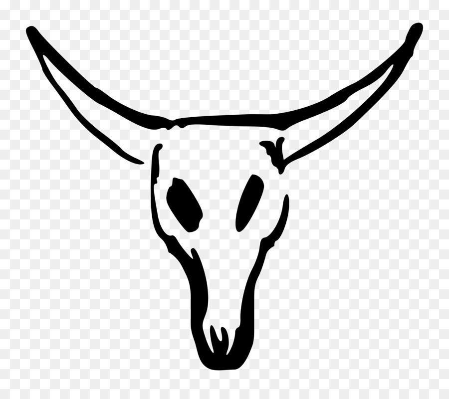 Texas Longhorn Skull Clip art - Longhorn png download - 2400*2102 ...
