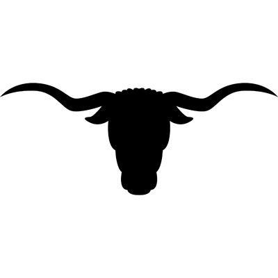 Tattoos . Cattle clipart longhorn cattle
