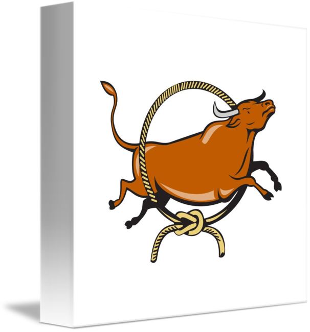 Longhorn clipart cap. Texas red bull jumping