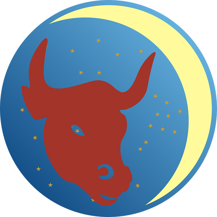Collection of zodiac signs. Longhorn clipart cartoon