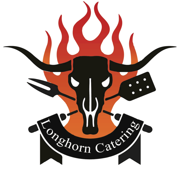 Welcome catering. Longhorn clipart decal
