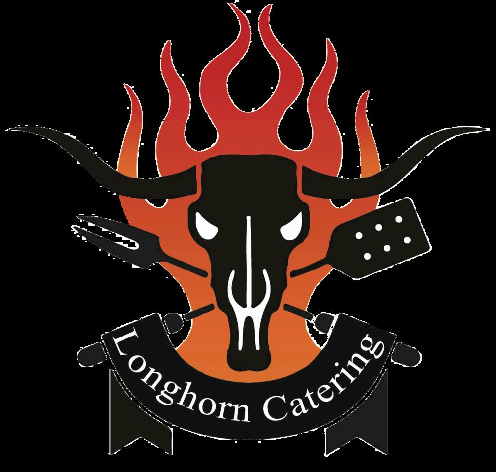 Longhorn clipart emblem. Catering