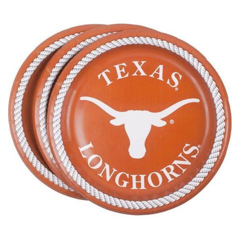 Texas longhorns dessert plate. Longhorn clipart graduation