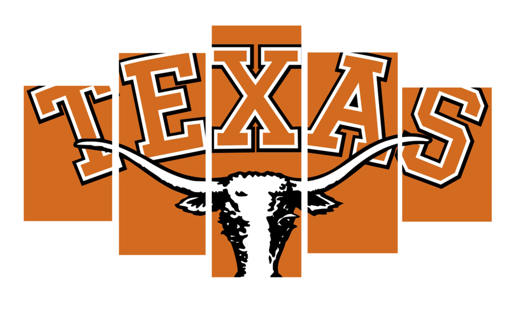 Longhorn clipart orange. Hd printed texas football