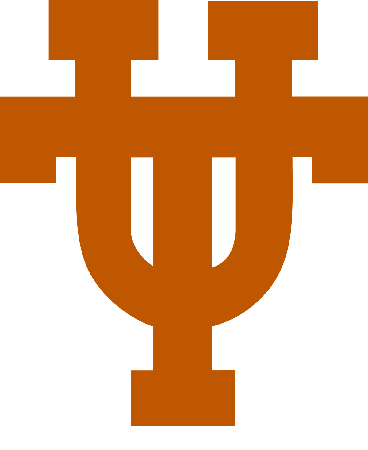 longhorn clipart orange #125405064