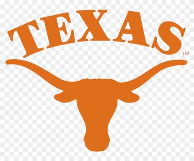 Texas bovine line logo. Longhorn clipart pencil