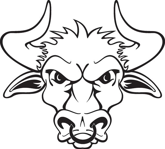 Drawn bulls outline free. Longhorn clipart skeleton