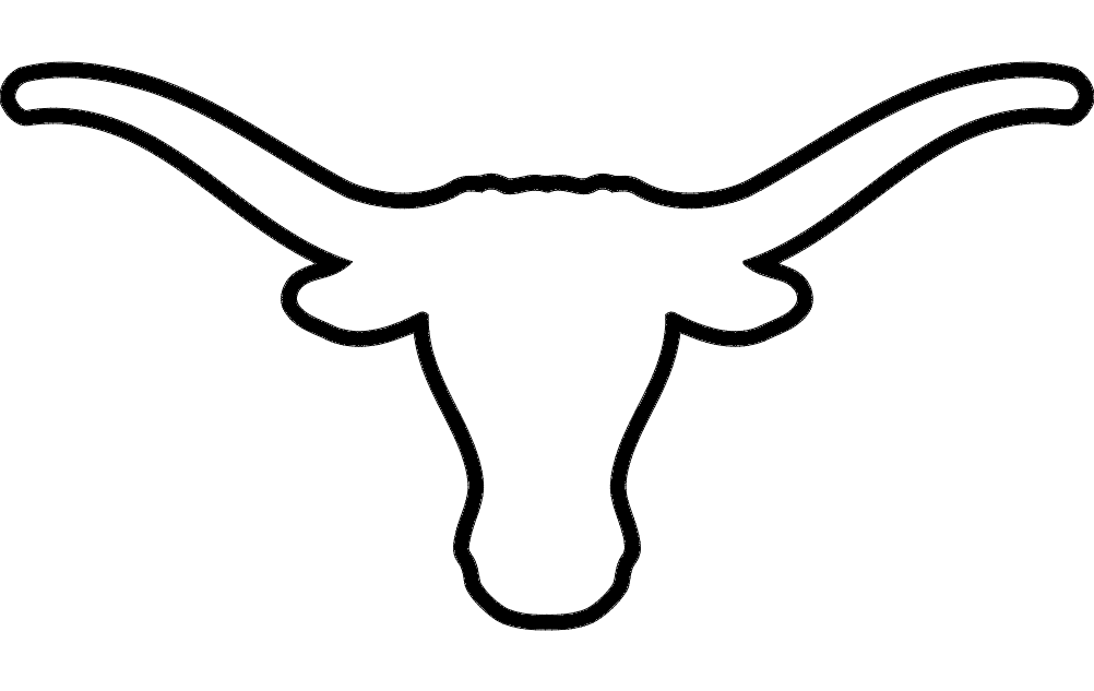 At paintingvalley com explore. Longhorn clipart sketch