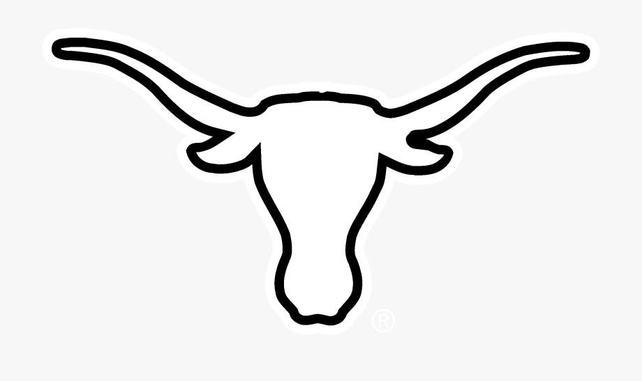 Cattle white texas longhorns. Longhorn clipart svg