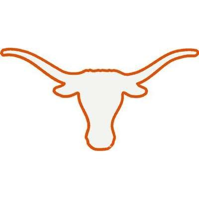 Of s window decals. Longhorn clipart texas university