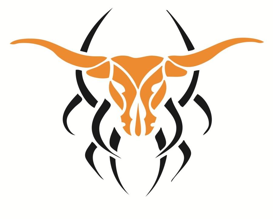 Longhorn clipart tribal. Download texas longhorns
