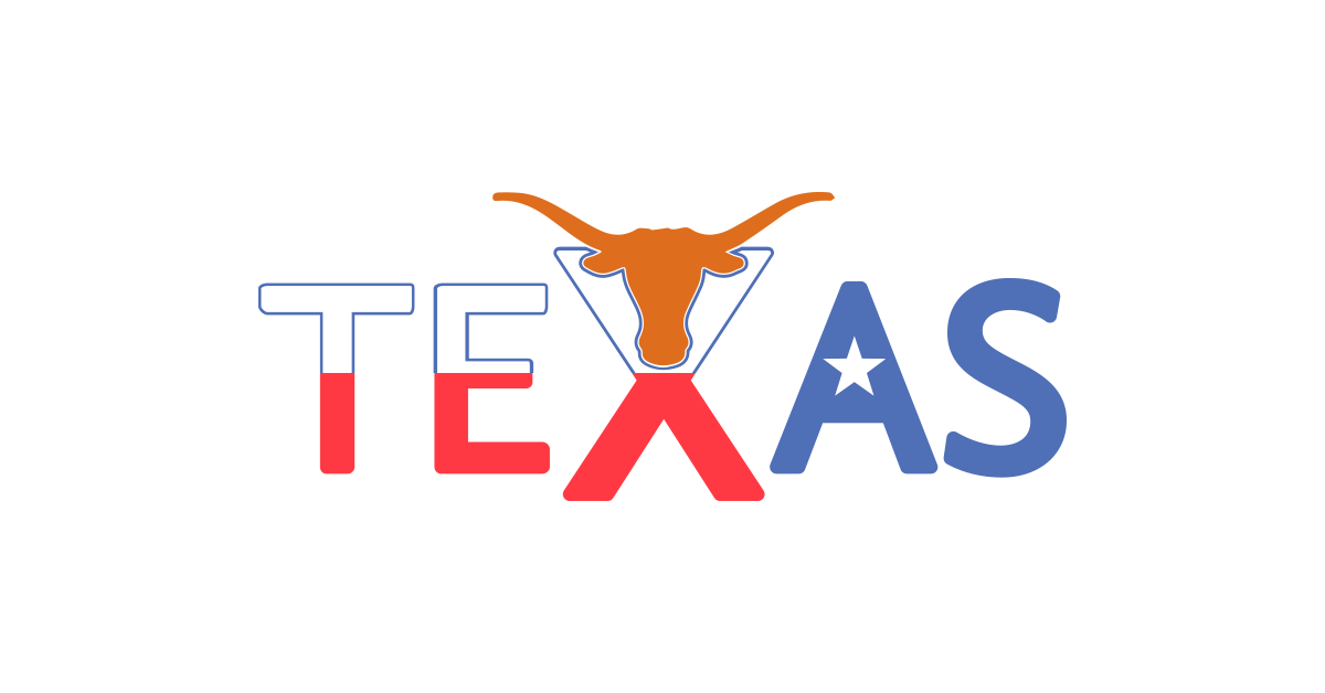 Texas sign and png. Longhorn clipart vector