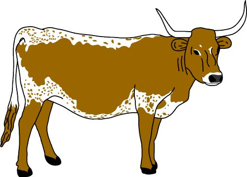 Free texas longhorns cliparts. Longhorn clipart