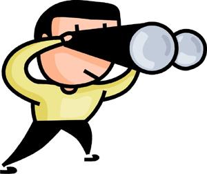 Free look cliparts download. Binocular clipart lookout