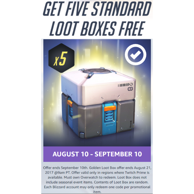 X standard boxes from. Loot box overwatch png
