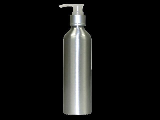 Lotion bottle png. Aluminium empty treatment pump