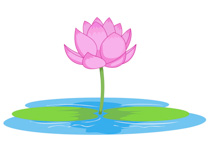 Search results for clip. Lotus clipart