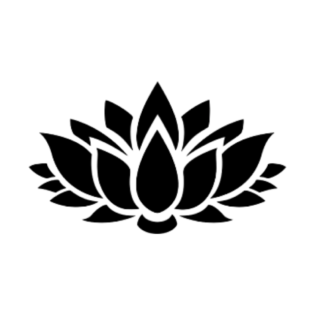 Lotus vector png. Zen outline meditation chan