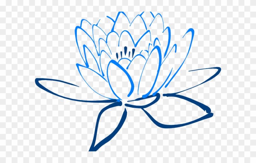 Rose png transparent . Lotus clipart blue lotus