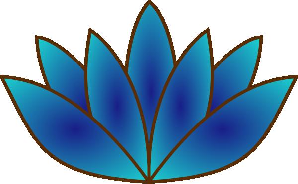 Lotus clipart blue lotus. Clip art at clker
