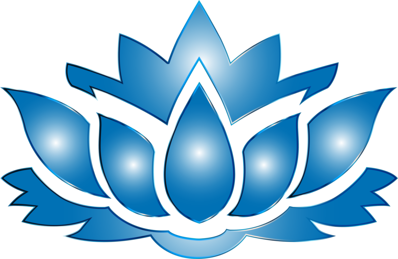 Lotus clipart cute. Free black and white