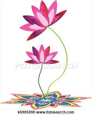 Lotus clipart cute. Small tattoos illustration