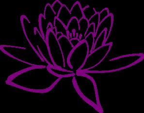 X free clip art. Lotus clipart esthetician