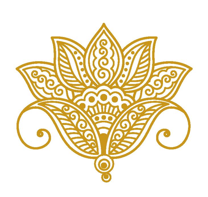 lotus clipart henna