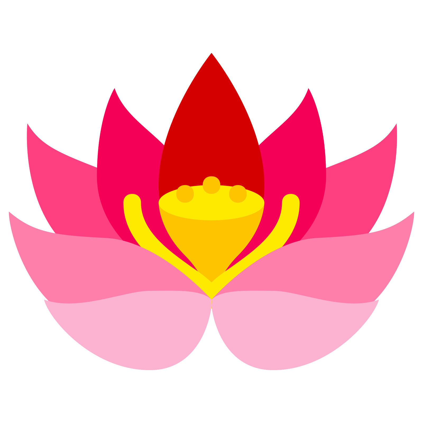 Flower bjp image collections. Lotus vector png