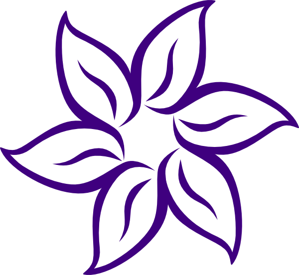 New clip art at. Lotus clipart large flower