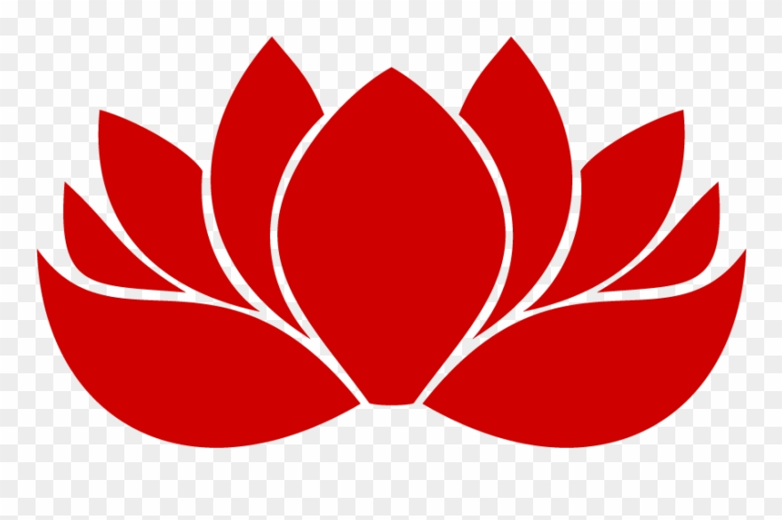 Flower icon pinclipart . Lotus clipart red lotus