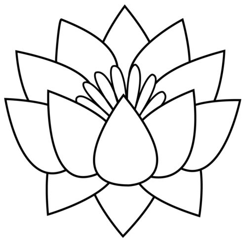 Lotus clipart simple. Image result for color