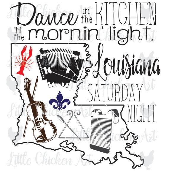 Travel images saturday night. Louisiana clipart
